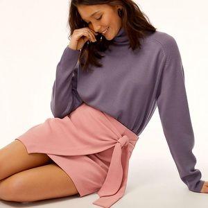 Aritzia / wilfred Mini Wrap Skirt